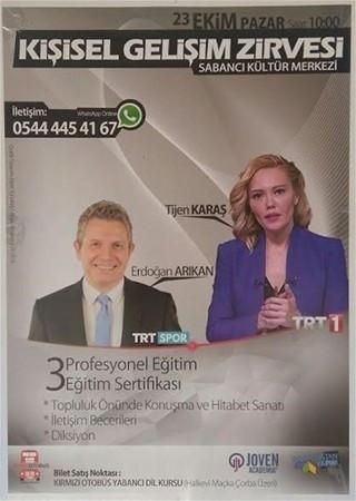 Türkiye yine TRT spikeri Tijen Karaş'ı konuşuyor