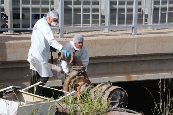Sulama kanalında iş adamı ölü bulundu