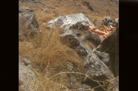 İran sınırında kaçak boru hattı !