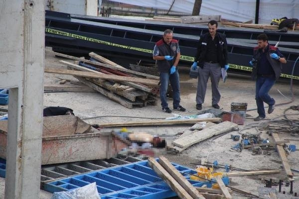 Vince bağlı sepet düştü: 2 işçi ölü