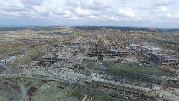 3. Havalimanı inşaatında çalışan sayısı 20 bine çıktı