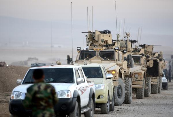 ABD askerleri cephede