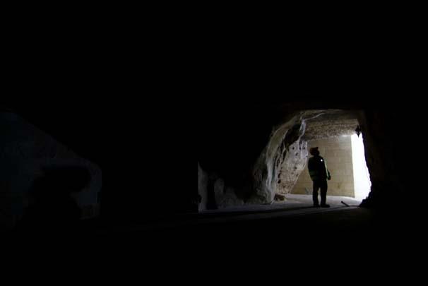 """Antep kuşatmasının """"lojistik tünel ve mağaraları"""" ziyarete açı"""