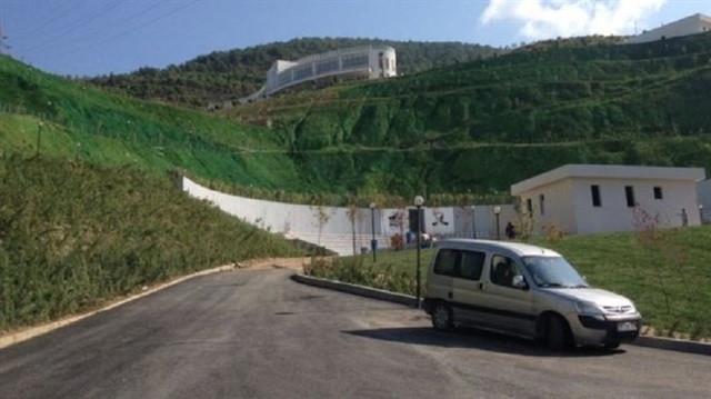 CHP'li belediye vadiyi yeşile boyadı