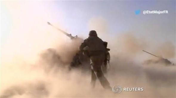 İşte Musul operasyonundan görüntüler