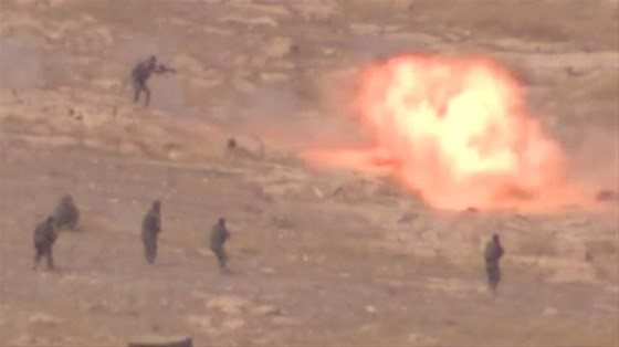 DAEŞ militanı kendini böyle patlattı