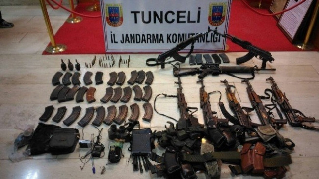 PKK'lı kadın teröristin yakalandığı an