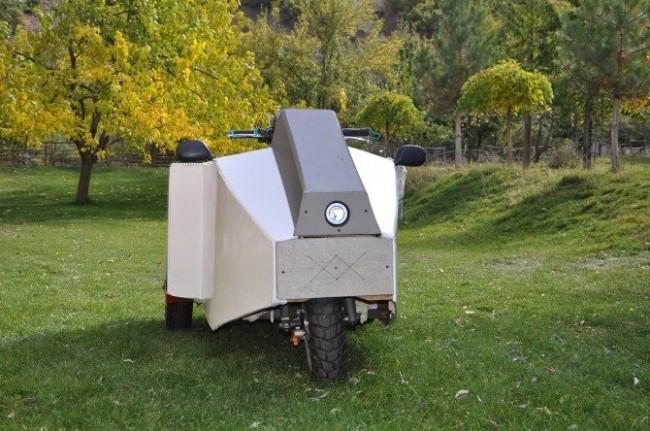 Elektrikli aracı Tunceli'de yaptı
