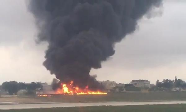 Avrupa Birliği temsilcilerini taşıyan uçak düştü