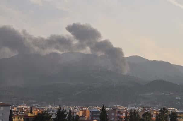 PKK'lı teröristler taş ocağına saldırdı