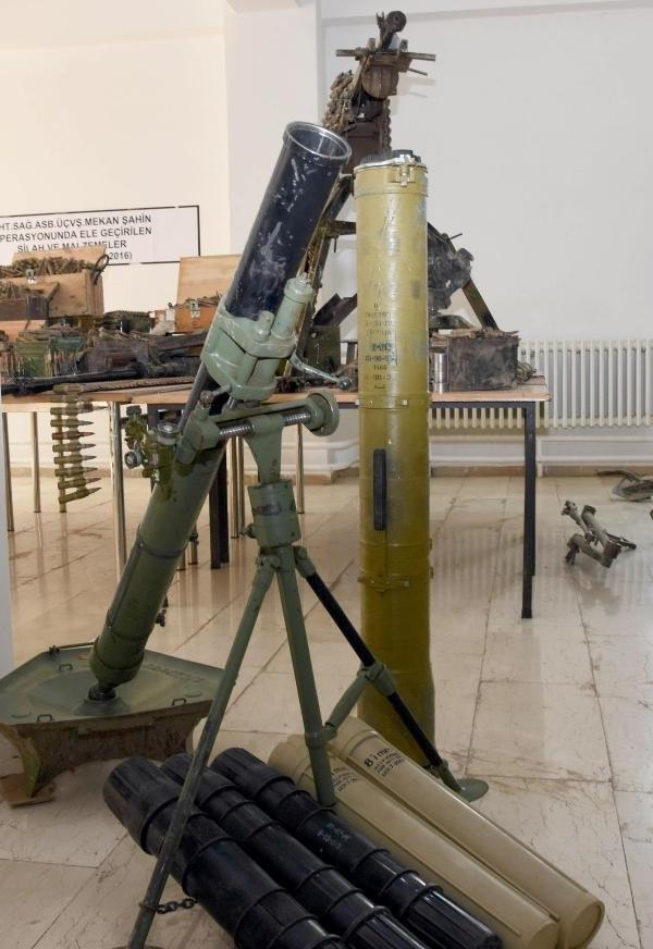 PKK'lı hainlerin silahları şok etti!