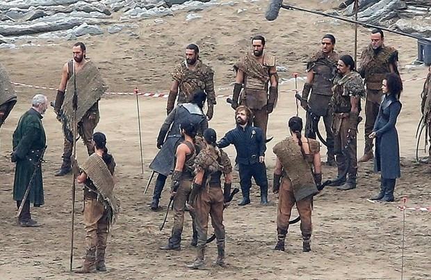 Game of Thrones setinden ilk kareler