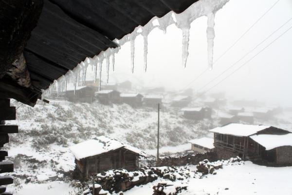 Ardahan'a yılın ilk karı düştü