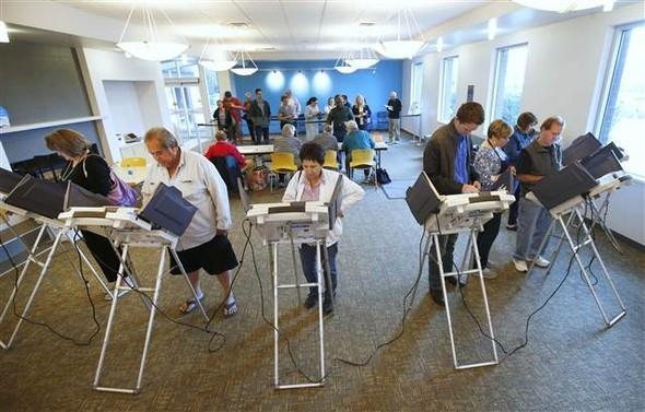 ABD'de oy verme işlemi başladı