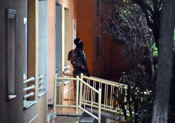 İstanbul'da lüks siteye DEAŞ baskını