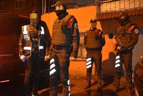 İstanbul Kuştepe'de uyuşturucu baskını