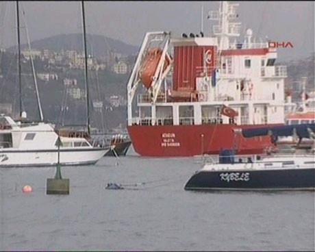 İstanbul Boğazında faciaya ramak kaldı