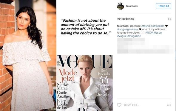 Dünya İranlı modacıyı konuşuyor