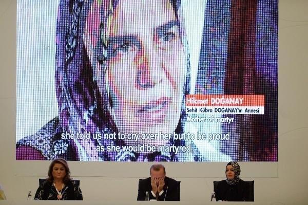 Erdoğan'ı duygulandıran belgesel