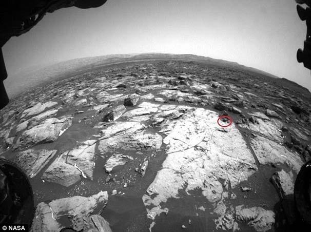Ve NASA'nın aracı dünyaya o fotoğrafları gönderdi