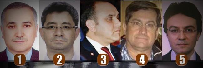 İşte Akıncı Üssü'ndeki 5 sivil