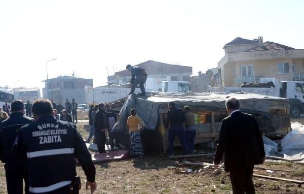 "Bursa'da ""başıboş"" at operasyonu"