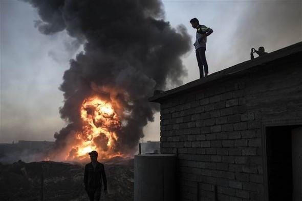Irak ordusu Musul'a girdi ! İşte ilk fotoğraflar