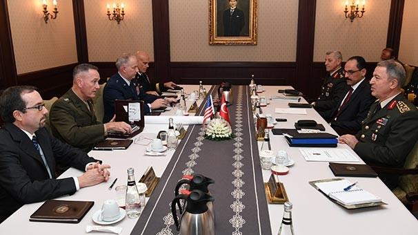 ABD Genelkurmay Başkanı'nın ziyaretinde dikkat çeken not