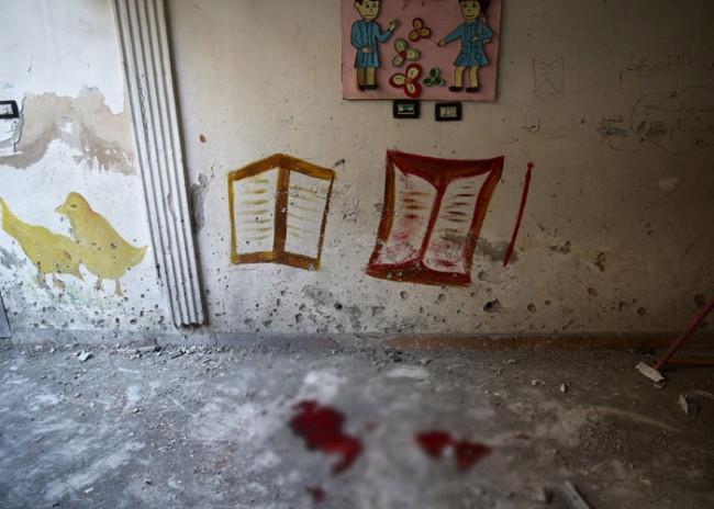 Ana okulunu bombaladılar