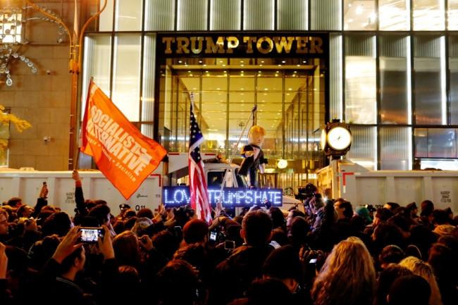 Trump başkan seçildi, ABD'liler ayaklandı
