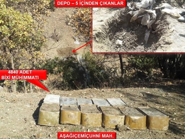 PKK'ya dev operasyon ! İşte ele geçirilenler