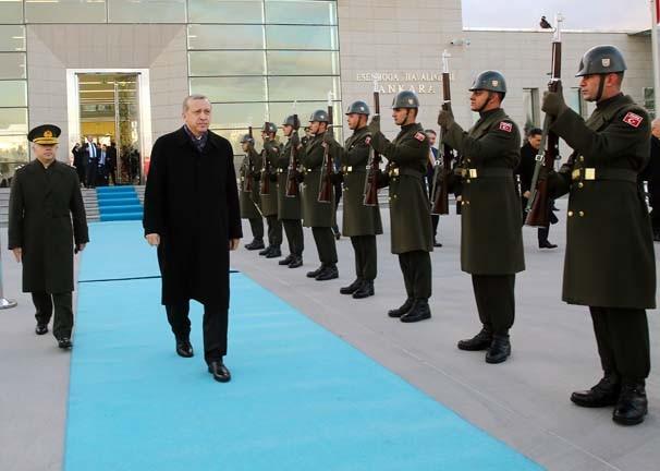 Belarus, Erdoğan'ı böyle karşıladı