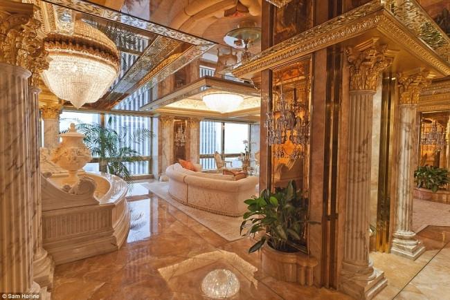 Donald Trump'ın muhteşem evi