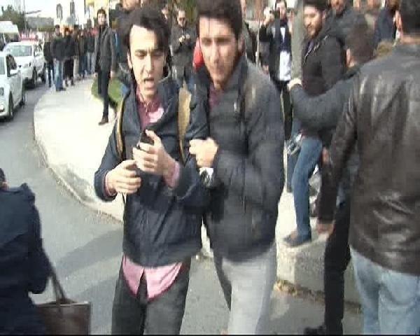 Boğaziçi Üniversitesi'nde olaylı gün