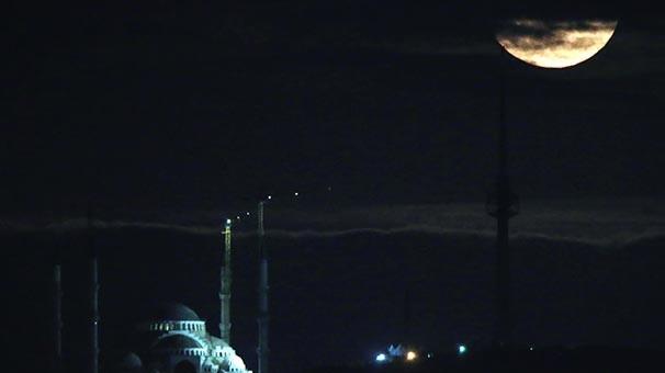 İşte Türkiye'den Süper Ay görüntüleri