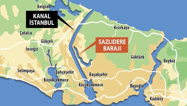 Kanal İstanbul'a ikinci Haliç planı