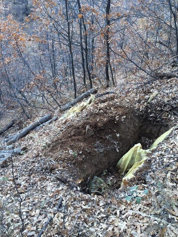 Bingöl'de PKK'ya ait, biri 11 odalı 13 sığınak ve 4 mevzi bulu