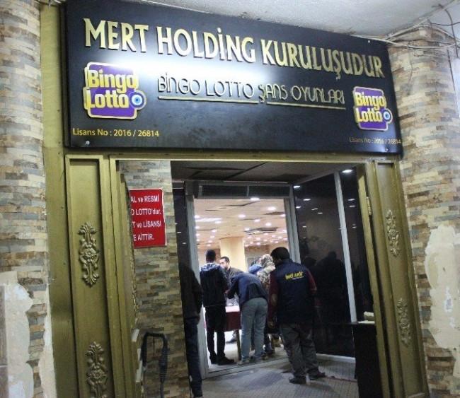 Adana'da tombala operasyonu