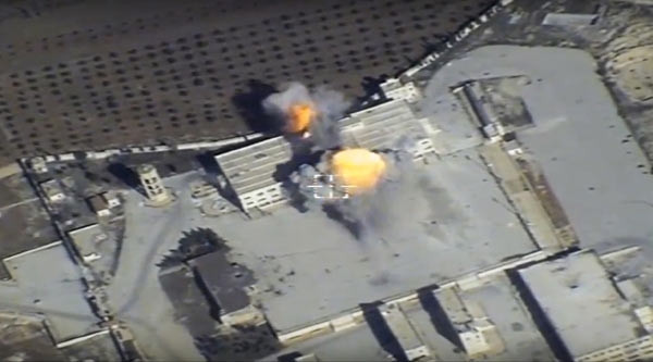 Rusya operasyon görüntülerini yayınladı