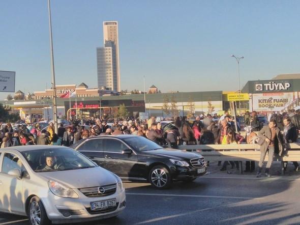 İstanbullular oraya akın etti