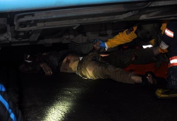 Özel Halk otobüsü dehşeti: 1 ölü