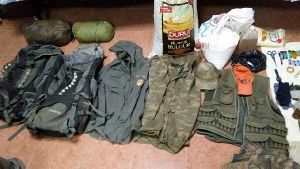 İzmir kırsalında PKK'ya ait cephanelik ortaya çıkartıldı