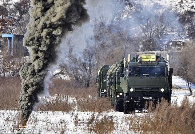 Putin dediğini yaptı: Füzeler yola çıkıyor