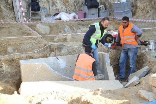 Milas'ta inşaattan tarih fışkırıyor ! Arkeologlar şaşkın