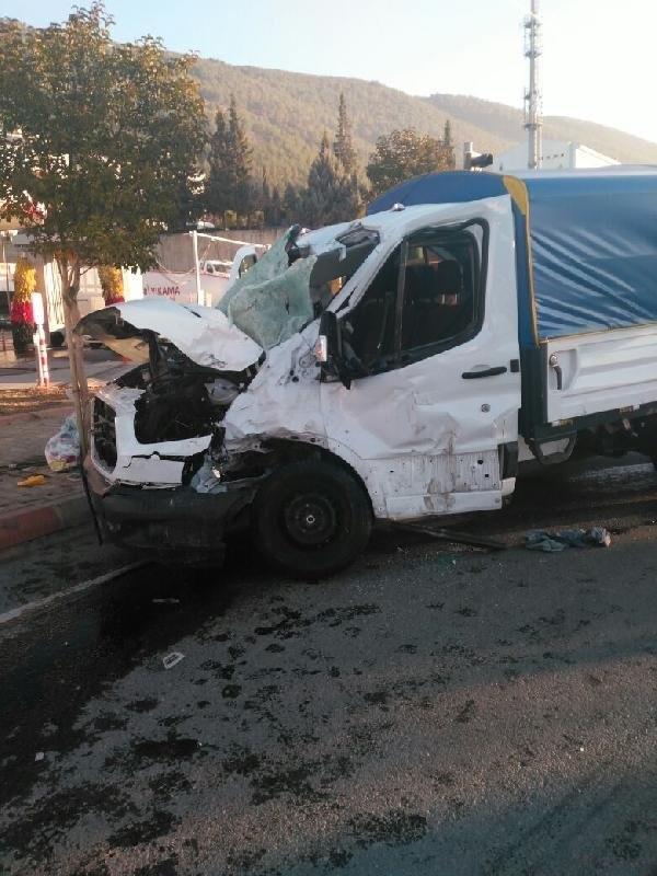 Kahramanmaraş'ta hafriyat kamyonu dehşeti