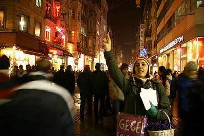 Türkiyeden yılbaşı manzaraları