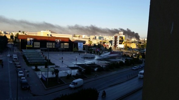 Adana'daki patlamadan ilk görüntüler