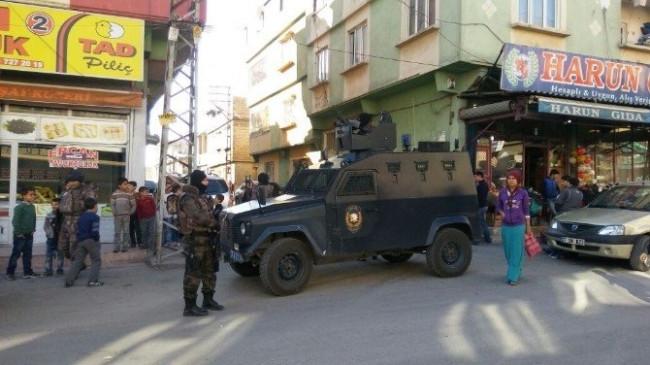 300 polisle PKK operasyonu