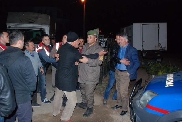 İzmir'de terörist cenazesine tepki !