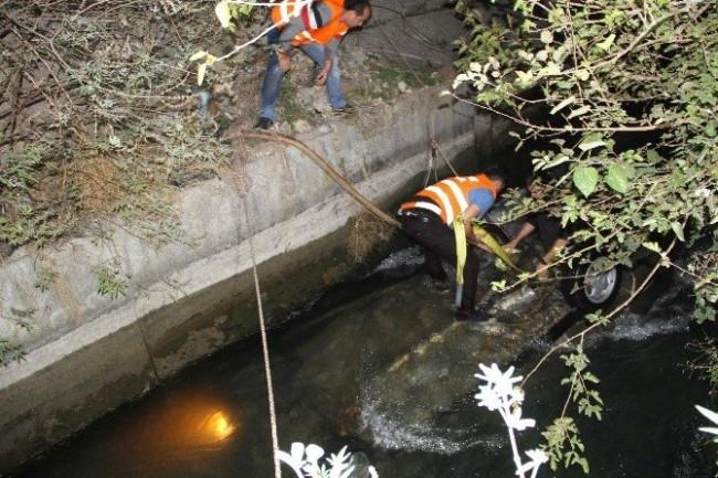 Sulama kanalında can pazarı: 2 ölü 1 yaralı